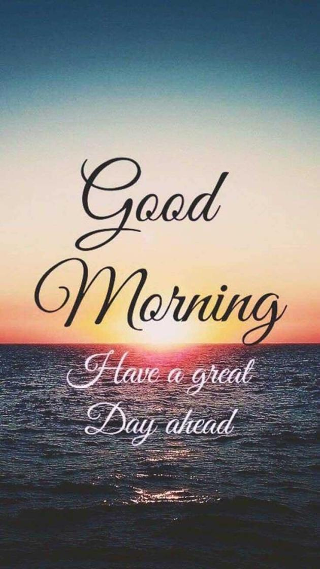 great day ahead good morning message image