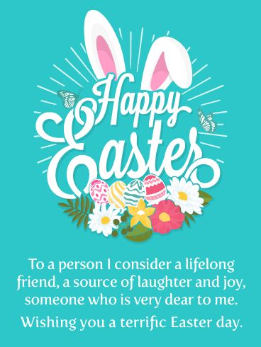 happy Easter wishes images for special friend