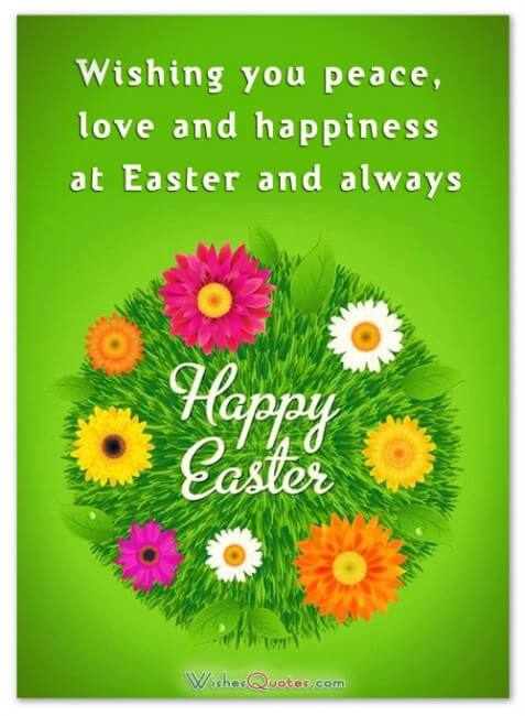 happiest Easter wishes image for friends and family