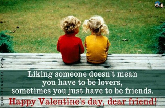 happy valentines day love message image for dear friend
