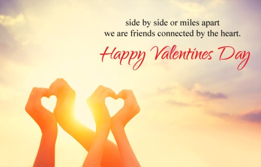 happy valentines day quote image for friends
