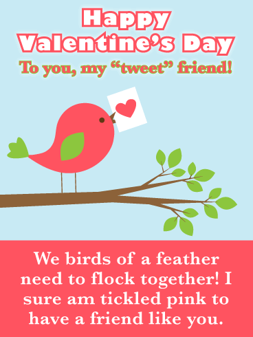 happy valentines day quote image for cute friend