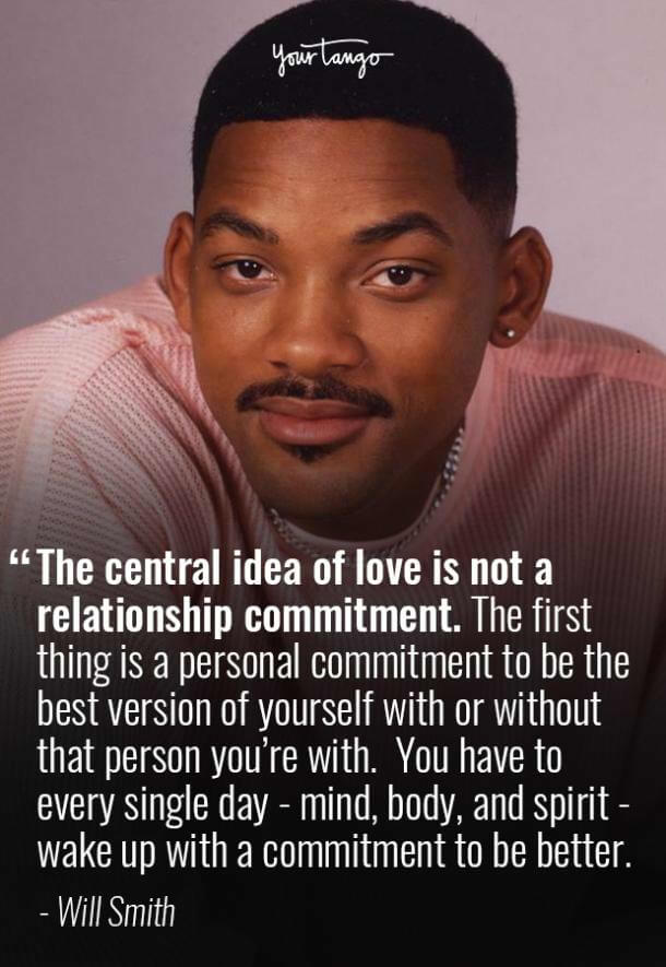 will smith quote about love and commitment