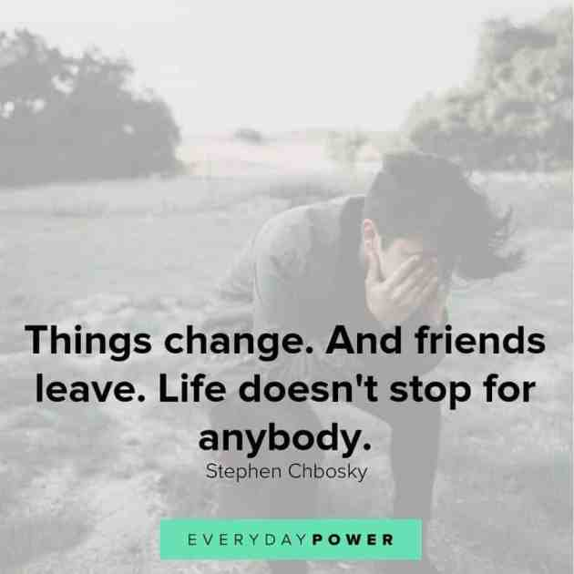 friends leave quote