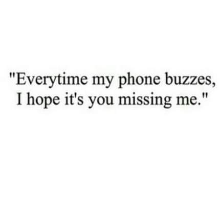 i hope you miss me quote