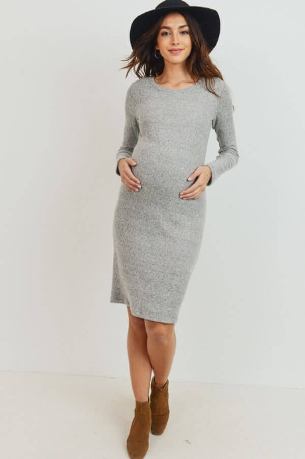 ribbed bodycon dress outfit