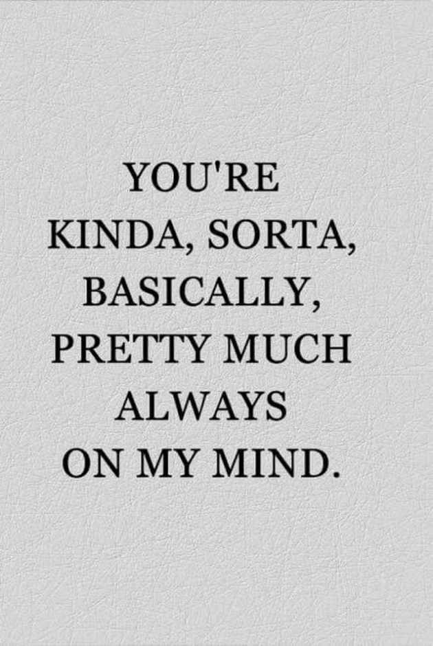 you are always on my mind quote to flirt