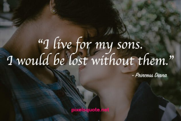 i live for my son quote image