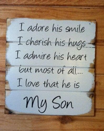 i love my son message image