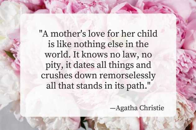 mothers love for a child quote image