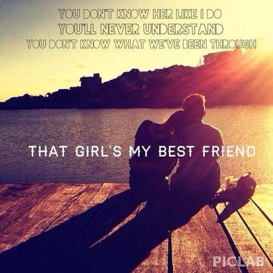 my best friend quote image for her