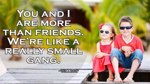 our friendship quote image