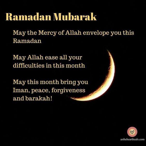 ramadan mubarak greeting message