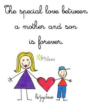 son and mother love quote image