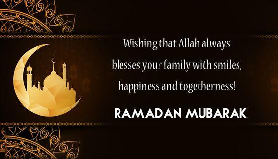 happy ramadan mubarak wishes
