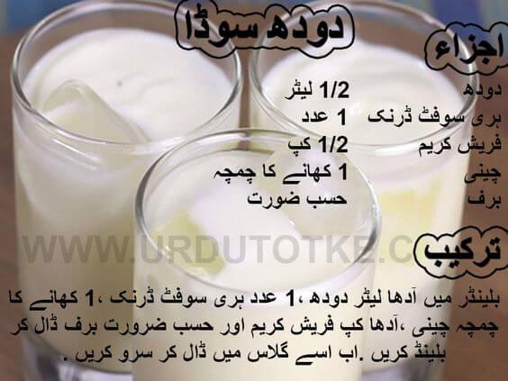 doodh soda recipe in urdu for ramadan iftari