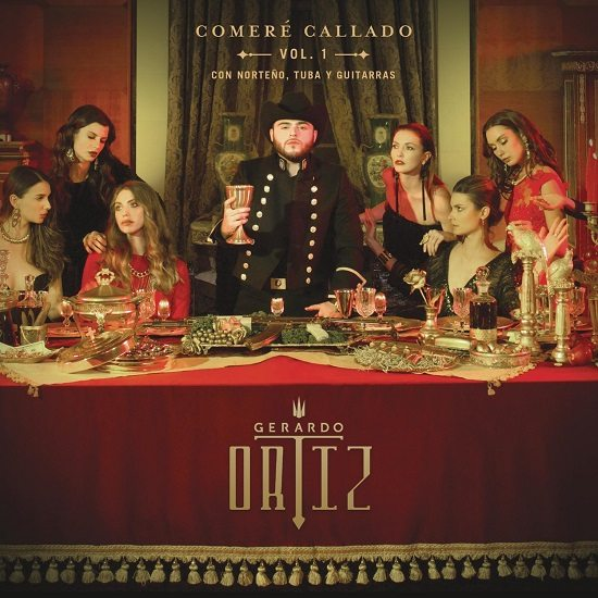 Gerardo Ortiz's  New Album, 'COMERÉ CALLADO VOL.1' Available for Pre-Order