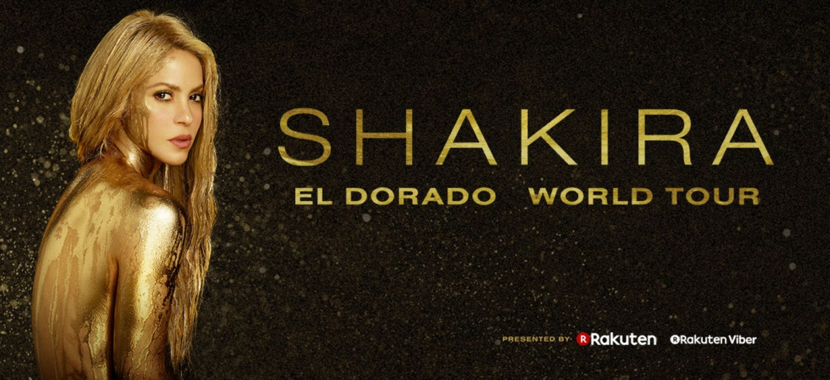 Shakira Announces 'El Dorado World Tour'