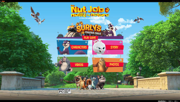 The Nut Job 2: Nutty By Nature' & Nickelodeon Launch