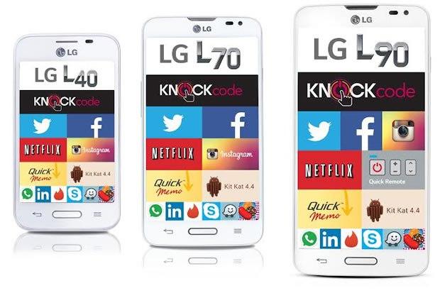 LG presenta la tercera generación de su más exitosa serie de Smartphones