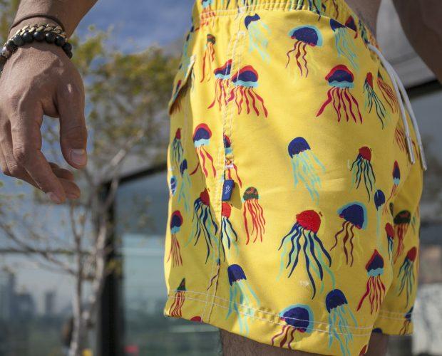 Jellyfish Swin Trunk para estas Vacaciones