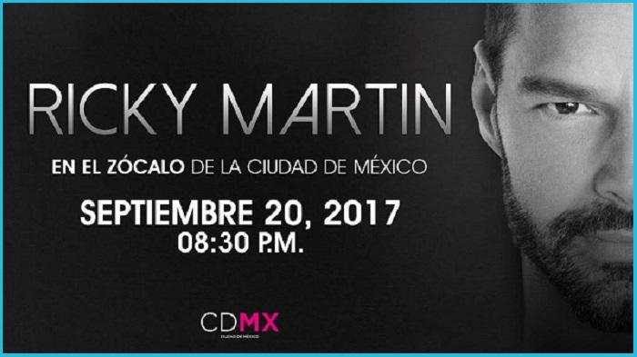 Ricky Martin 2017 (Flyer)