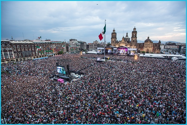 Zócalo - Estamos Unidos Mexcicanos