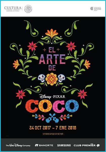 El Arte de Coco - Exposición (Flyer)
