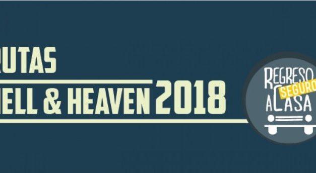 Ofrecerán transporte nocturno por Hell & Heaven 2018