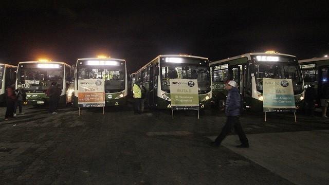 Operará transporte nocturno por Corona Capital