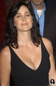 Carrie-anne Moss younger photo two at pinterest.com