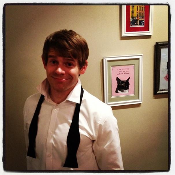 Andrew Keenan-Bolger - foto más antigua dos en broadway.com