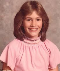 Julia Roberts, foto de infancia uno en dailymail.co.uk