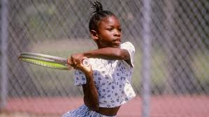 Serena Williams childhood photo one at bet.com