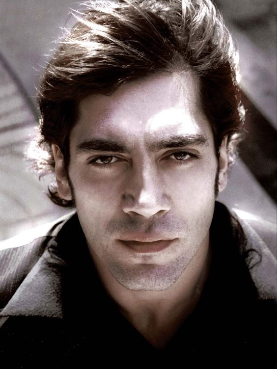 Javier Bardem younger photo one at pinterest.com