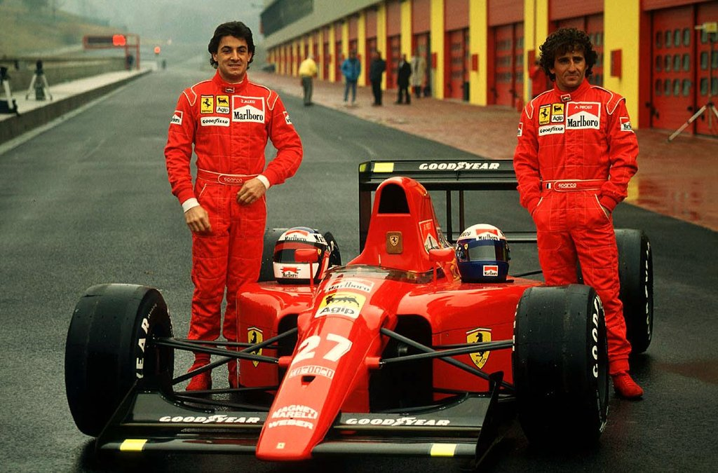 Jean Alesi younger photo one at pinterest.com