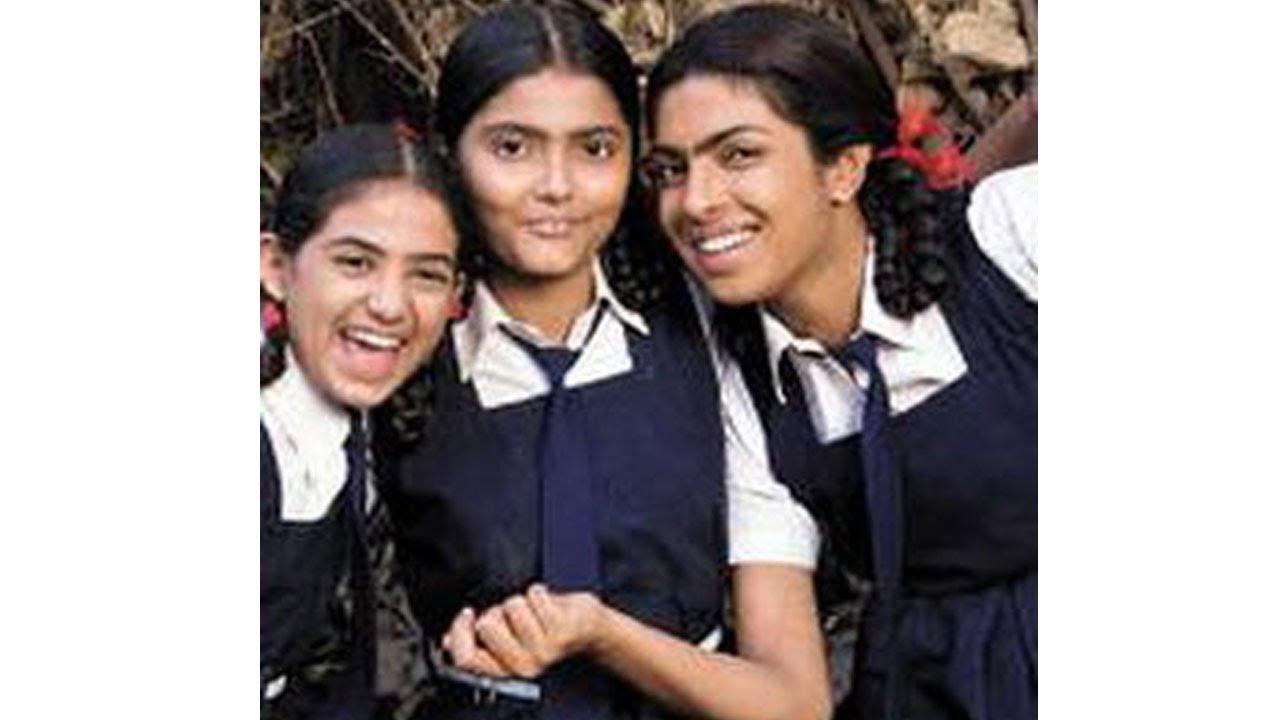 Priyanka Chopra childhood photo one at youtube.com