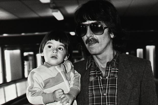 Dhani Harrison childhood photo one at pinterest.com