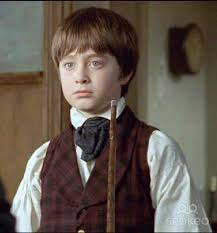 Daniel Radcliffe first movie:  David Copperfield