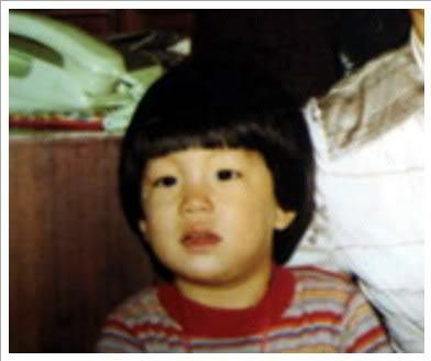 Gong Yoo kindertijd foto een via mykingsgongsong.tumblr.com