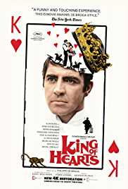 Daniel Prévost first movie: King of Hearts