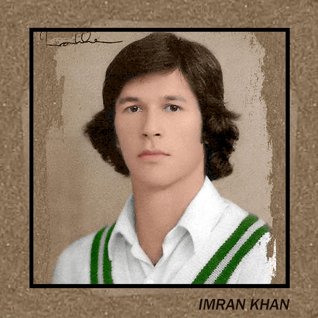 Imran Khan younger photo one at Flickr.com