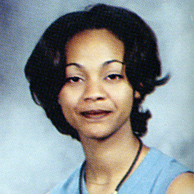 Zoe Saldana yearbook photo one at Instyle.com at Instyle.com