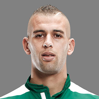 Islam Slimani younger photo two at pinterest.com