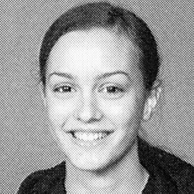 Leighton Meester yearbook photo one at instyle.com at instyle.com