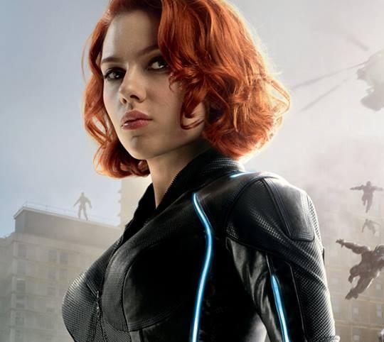 Avengers Age of Ultron, Black Widow