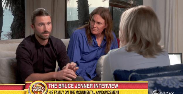 Brandon and Bruce Jenner