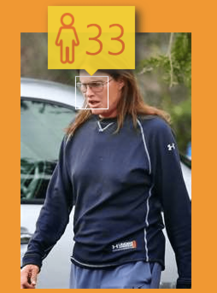 (How-Old.net) Kardashians: Bruce Jenner