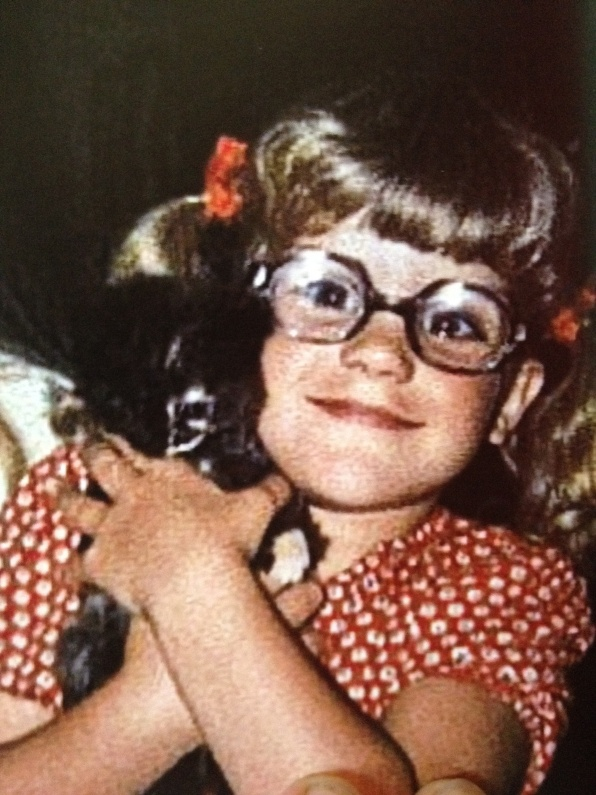 Pauley Perrette childhood photo one at pinterest.com