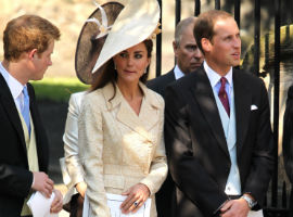 Prince Harry Ruining William And Kate's First Wedding Anniversary